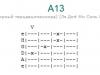 Аккорд a13