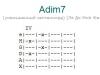Аккорд adim7