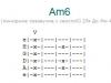 Аккорд am6