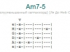 Аккорд am7-5