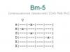 Аккорд bm-5
