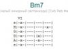 Аккорд bm7