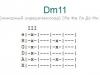 Аккорд dm11