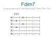 Аккорд fdim7