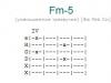 Аккорд fm-5