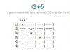 Аккорд g+5