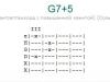 Аккорд g7+5