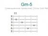 Аккорд gm-5