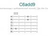Аккорд c6add9