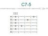 Аккорд c7-5