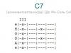 Аккорд c7