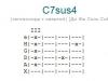 Аккорд c7sus4