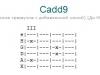 Аккорд cadd9