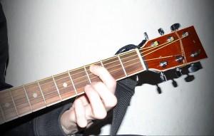 Нота До на грифе гитары