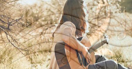 Как сочинить песню на гитаре?