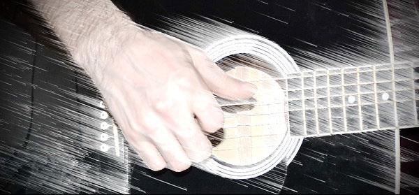 """Как играть методом """"щипка"""" на гитаре"""