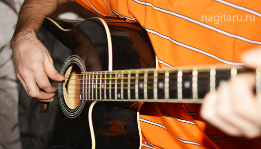Простые виды гитарного перебора! Видео-урок!