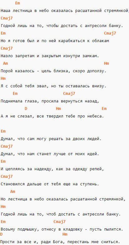Выдыхай - Noize-MC - Аккорды и текст