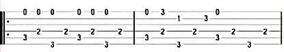 Jingle Bells - Табы в До-мажор для гитары 4