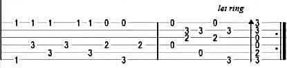 Jingle Bells - Табы в До-мажор для гитары 5