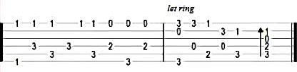 Jingle Bells - Табы в До-мажор для гитары 6